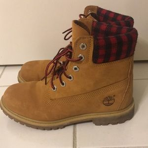 Timberland Flannel Boots
